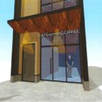 早良区 西新の新築店舗事務所