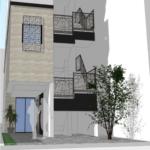 博多区 綱場町の新築店舗事務所